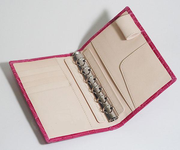 クロコダイルA6サイズシステム手帳